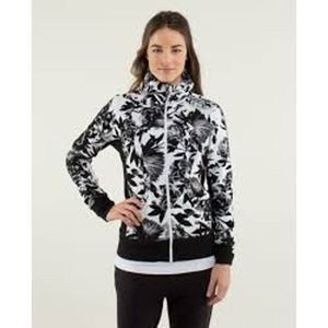 Lululemon Calm & Cozy Jacket - Brisk Bloom